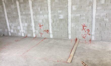 Aj, er der allerede blevet lavet grafitti??